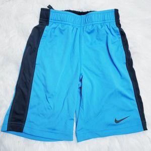 Nike blue athletic shorts